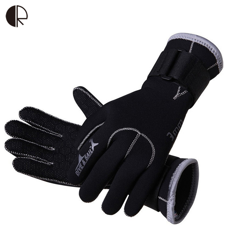 SO669 Wholesale Slinx 3mm Neoprene Diving Gloves High Quality Gloves For Swimming Keep Warm Swimming Diving Equipment