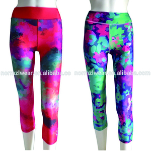 OEM/ODM athletic apparel manufacturers wholesale athletic wear sexy capri tights custom dry fit leggings fitness womens