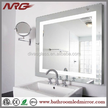 Wonderful Hotel Bathroom Mirror With Defogger Pad