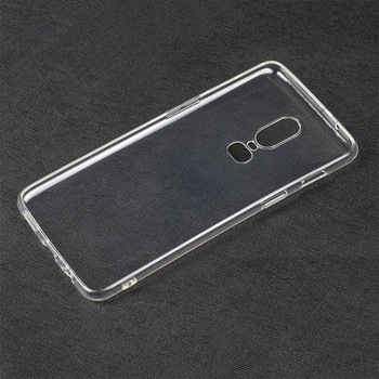 super popular 7d03f c29eb 1.0mm Transparent Clear Tpu Case For Oneplus 6 Gel Acover,For One Plus 6  Case Cover - Buy Case For Oneplus 6,Tpu Case For Oneplus 6,Clear Case For  ...