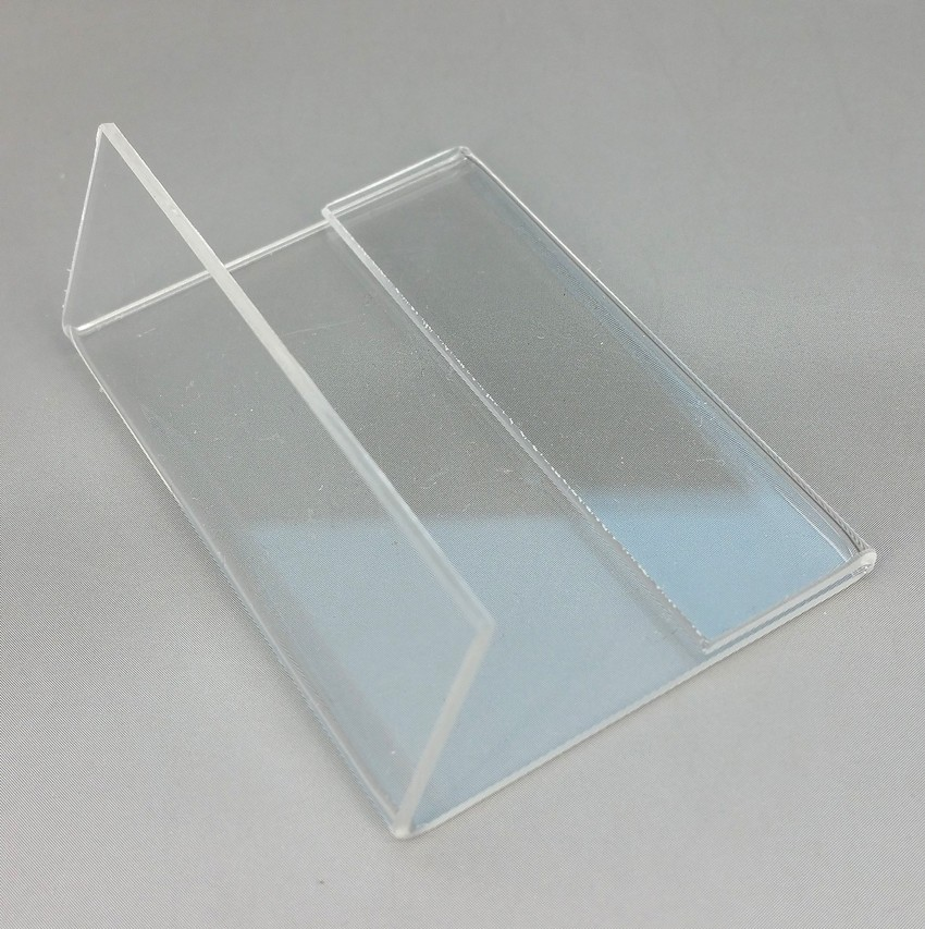 Card Holder & Note Holder Hearty Acrylic T 1.3mm Clear Plastic Desk Sign Label Frame Price Tag Display Paper Card Holders Acrylic Label Holder Stand Frame 50pcs Desk Accessories & Organizer