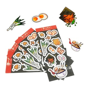 Hot Sale Custom Logo Printing Adhesive Coated Art Paper Label Glossy Lamination Waterproof Sticker Sheets
