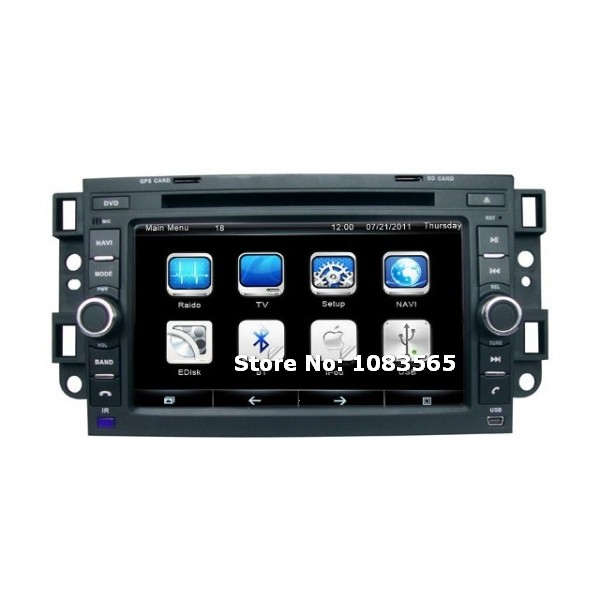 for chevrolet captiva 2006 2012 car radio gps navigation dvd player with map tv bluetooth audio. Black Bedroom Furniture Sets. Home Design Ideas