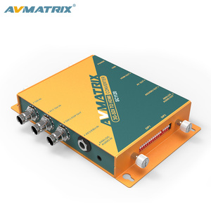 AVMATRIX HD-SDI to HDMI Converter 1080p with scaler and audio embed/de-embed