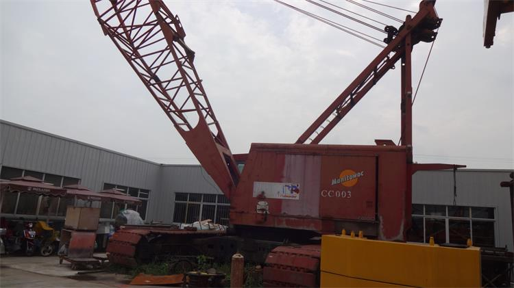 4100W Manitowoc Used Cheap 200 Ton Crawler Cranes For Sale in China