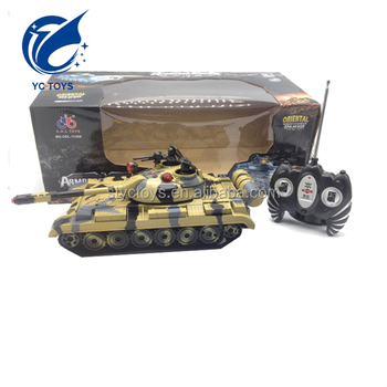 Fashion 8 Channel Rc Battle Tank Mini Tanks Model Remote Control With Song And Light Imitation