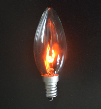 Flickering flame light bulb led