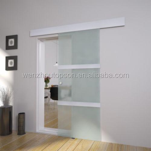 Modern Sliding Glass Door System Internal Aluminum Living Room