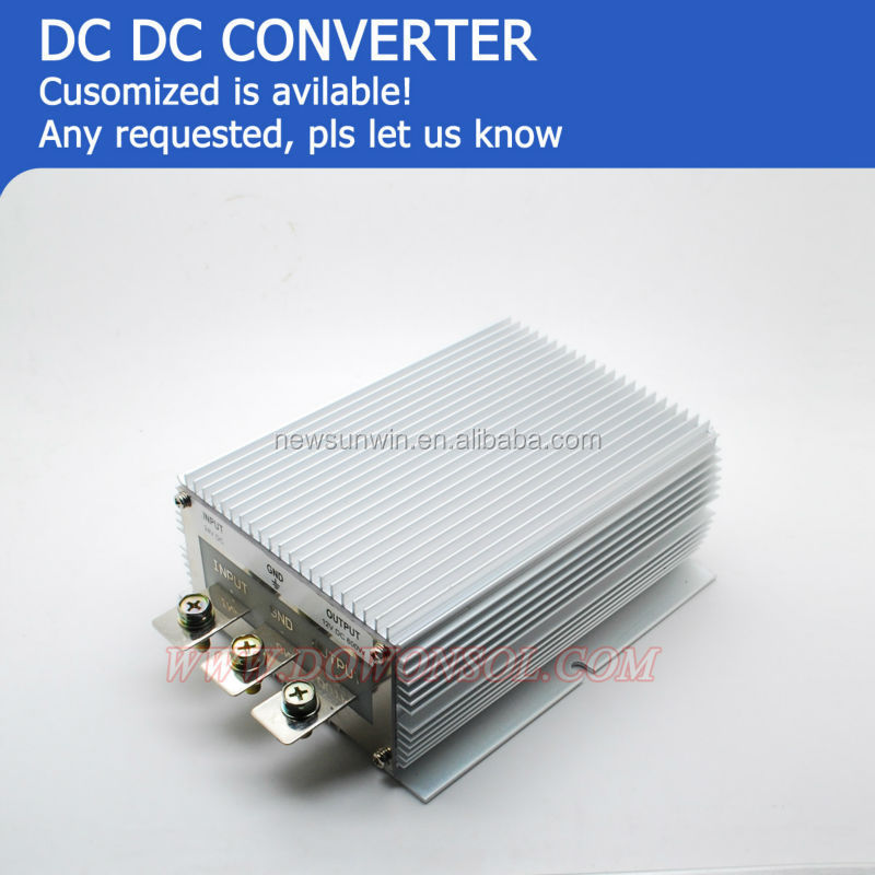 600W 24v dc to 12v dc converter 50A High output current for led dislay or car