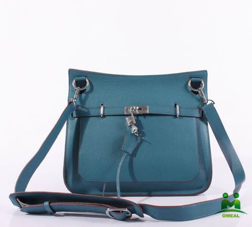 high quality blue lichee messenger bags women brand bags with lock C2-194 dropship fast delivery