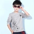 Children s clothing 2016 fall boy s fashion new long sleeved T shirt