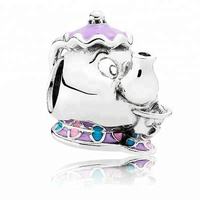 Klein Jewelry cartoon series charm for Pandora bracelet silver 925 Silver 925 High-quality Enamel