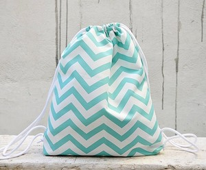Chevron Small Backpack, Triangle Backpack, Drawstring Backpack