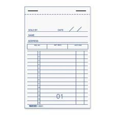 """Rediform Office Products : Sales Books, Carbon Copy, 2 Parts, 3-3/8""""x5"""" -:- Sold as 1 EA"""
