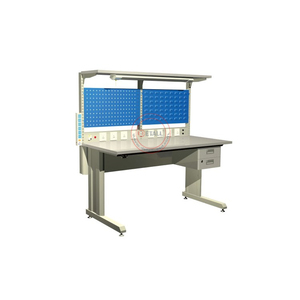 newest oem custom electronic workbench with drawers, lights and sockets