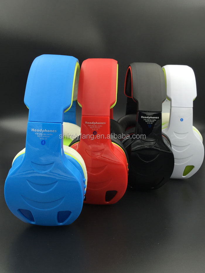 Top quality new style pc game bluetooth wireless headset with Big Ear Pad Headset for ps4
