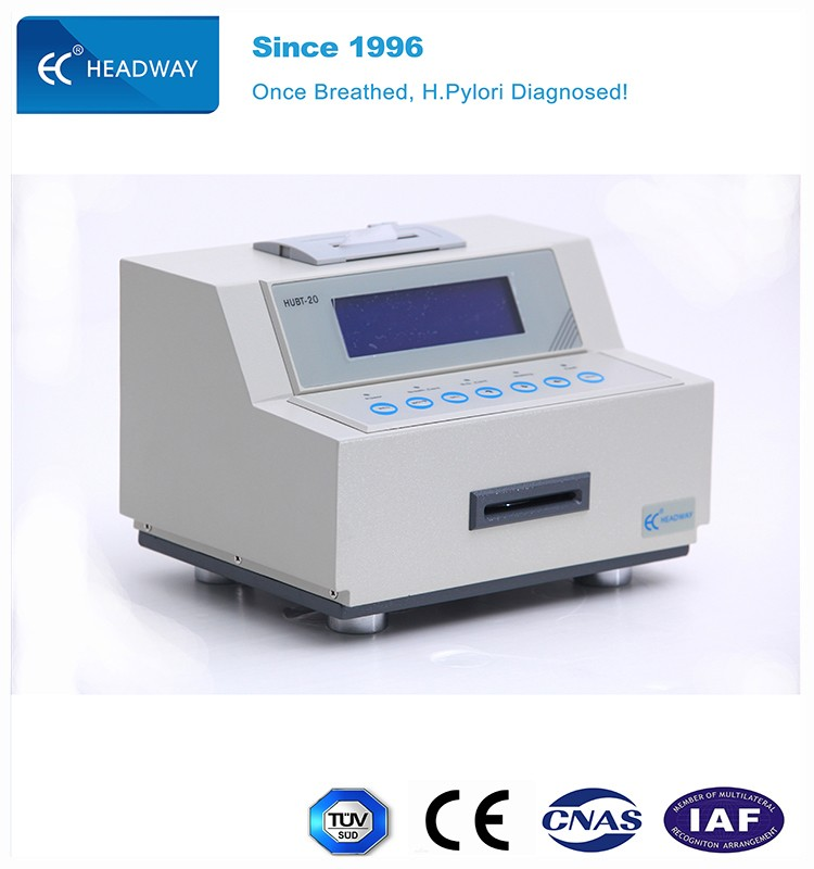 HEADWAY UBT C14 Urea Breath Test Analyzer HUBT20 diagnosing h pylori