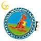 Beautiful magnetic crystal stone hat clip ball marker fof golfer lady