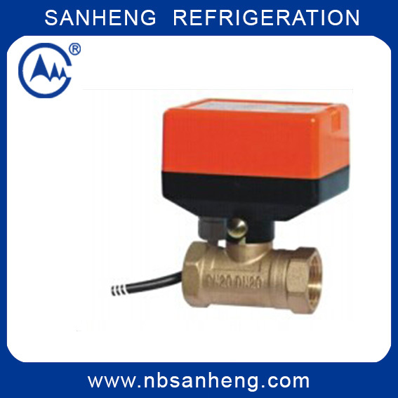 High Quality Ball Valve with Actuators For Air Condition Of DQF C2