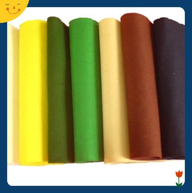 100% Polyester Felt Fabric And Acrylic Felt Fabric