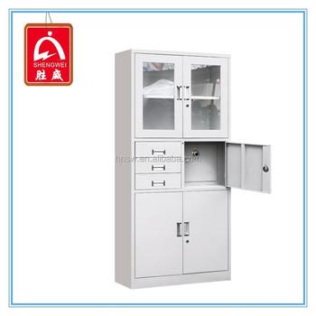 lockable metal cabinet office metal filing cabinet with inner safe lockable metal filing cabinet