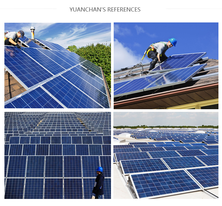 Yuanchan Top One Solar Panel Supplier 250W Mono Solar Panel for Solar Home System