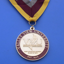 customzied ribbon medals Valley View University