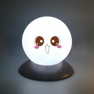 Desk Decoration Touch Sensor LED Plastic Glow Ball Light
