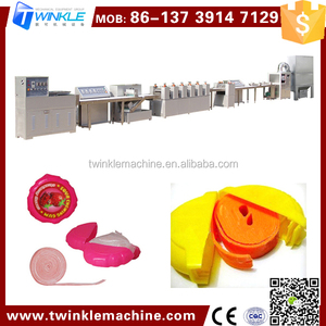 TKT-213 Rolling Cutting Chewing Gum Manufacture Machine