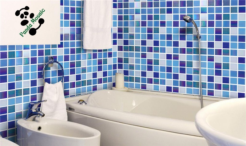 SMH20 lowes discount mosaic glitter crystal glass mosaic tiles prices in egypt