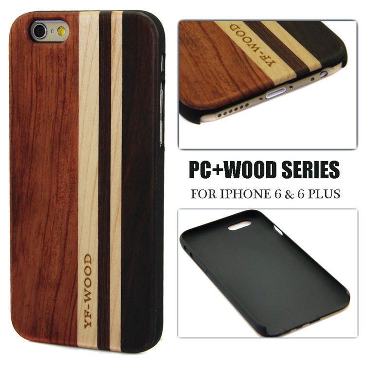 Wood bamboo phone case for i phone5s original with mobile phone case