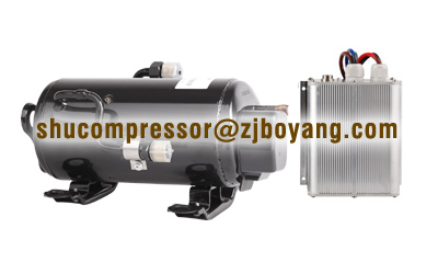 Truck Air Conditioner Kits R134a Brushless Dc Compressor 12v/24v/48v/72v  For Electric Air Conditioning System - Buy Truck Air Conditioner Kits R134a