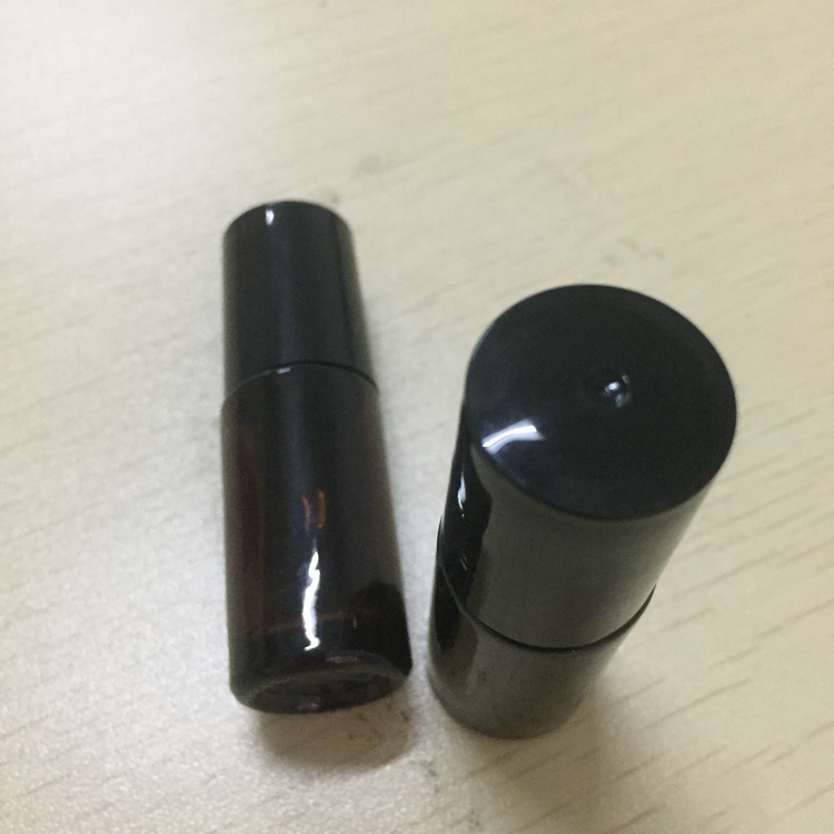 Cheap 5ml round glass essential oil glass roll on bottles for perfume
