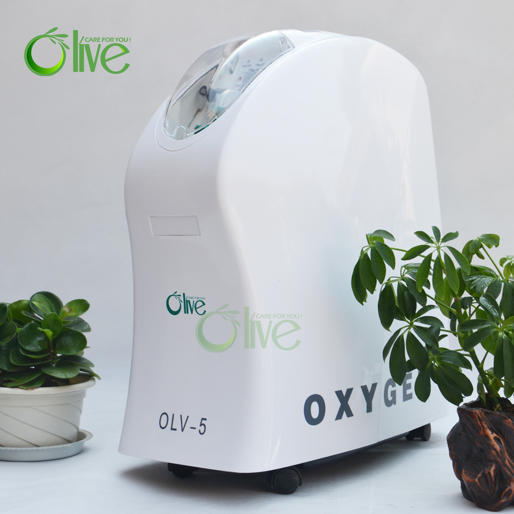 Olive CE approved home use stationary 5L oxygen concentrator