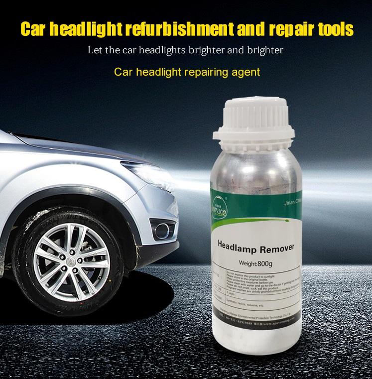 Headlamp Coating Solution Car Head Lamp Restoration Kit Headlight Restoration Liquid