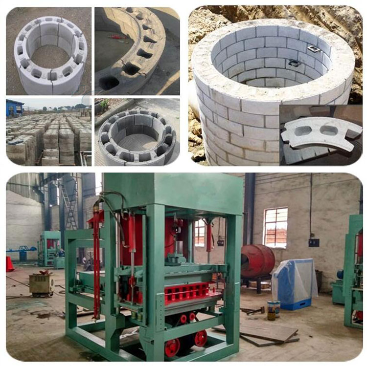 Hollow Block Manufacture/Manual Hollow Brick Making Machine QTJ4-40 Manual Concrete Block