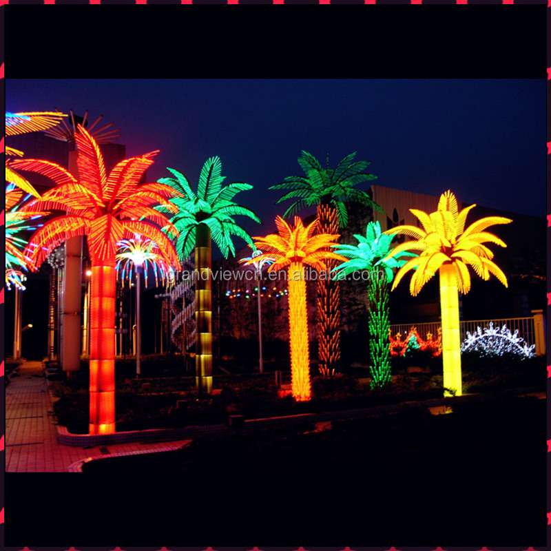 30off new design led decoration artificial outdoor christmas palm tree light