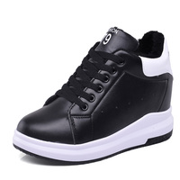 High heel wedge woman fashion sneaker and casual sport shoes sneakers for women