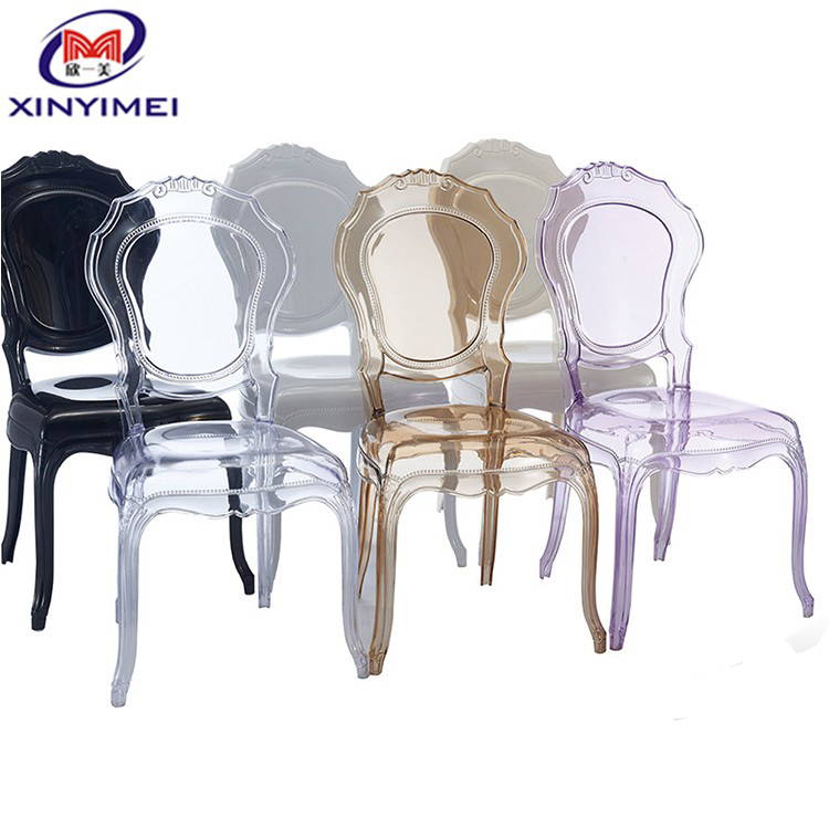 European antiques style acrylic plastic victoria belle epoque chairs
