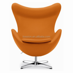 Modern lounge leisure arne Jacobsen swivel fabric saarinen egg chair