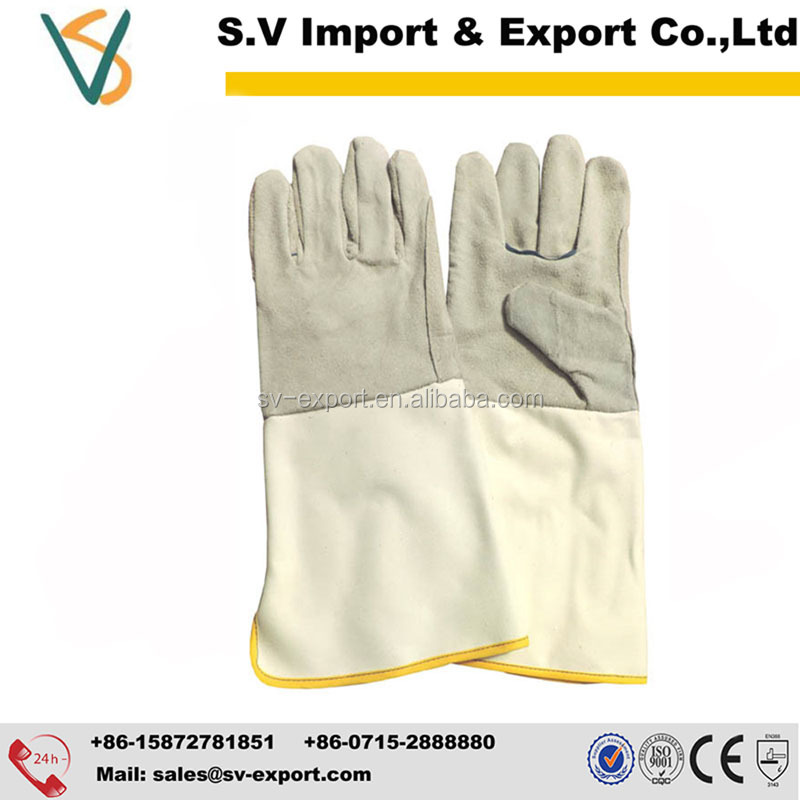 14inch Cheap Working Leather Gloves
