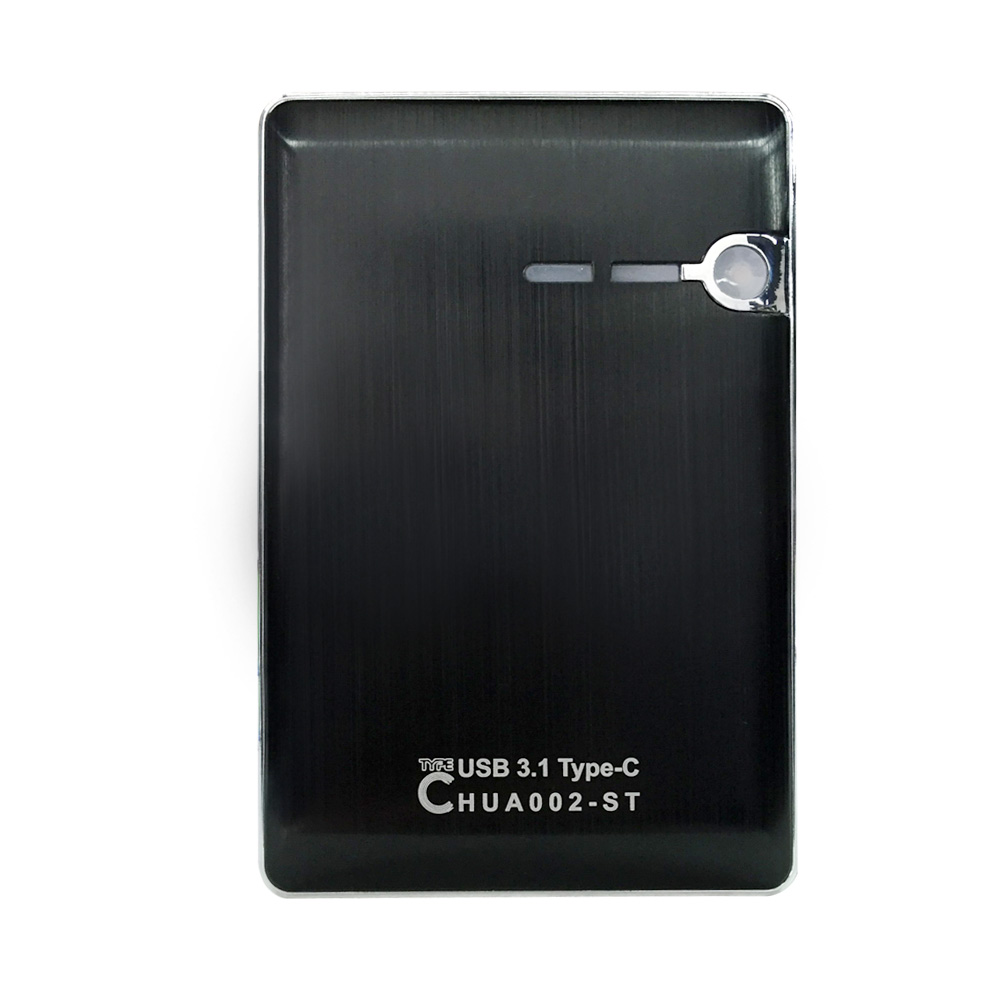 Portable  external 1.8inch mSATA to USB3.0 mini SSD card adapter Enclosure