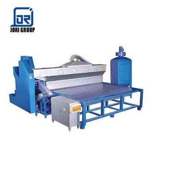 Float flat glass blasting machine for frosted glass