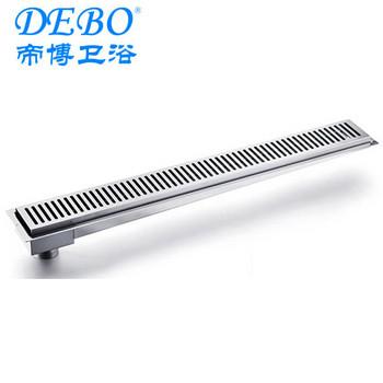 long stainless steel floor drain shower drainbath drain cover rainwater drains