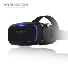 Google Cardboard VR Shinecon BOX 2.0 Version VR Shinecon BOX Virtual Reality Glasses+Smart Bluetooth Wireless Mouse/Remote Co