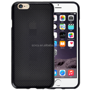 Special design DIY mesh grid dot view cross stitch embroidery cell phone case cover for iphone 4 5 6 6s plus