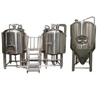 Beer brewing equipment micro brewery 100L 200L 300L 500L 1000L per batch for beer manufacturer
