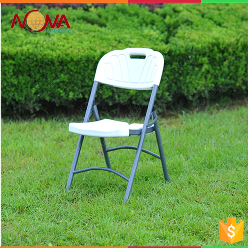 2017 cheap colourful designer outdoor metal folding chair white plastic folding chair