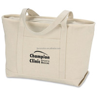 high quality Serif blank canvas wholesale tote bags