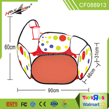 Colourful baby indoor play house basket funny ball pool tent toys shantou